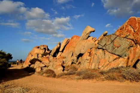 Red rocks, Costa Paradiso, Sardinia, Italy