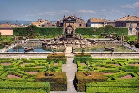 Gardens of Villa Lante, Bagnaia, Lazio, Italy