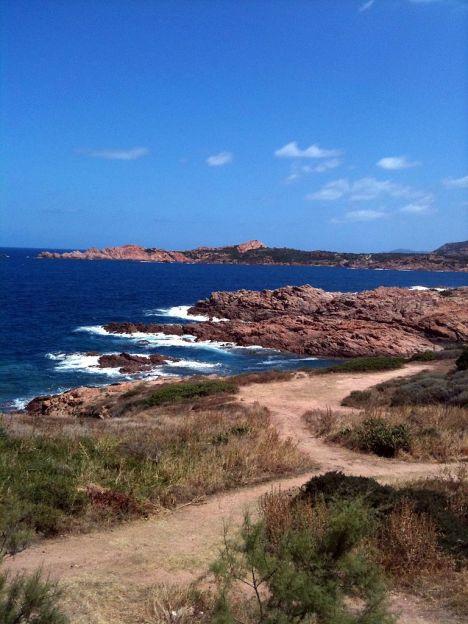 Isola Rossa coast, Sardinia, Italy