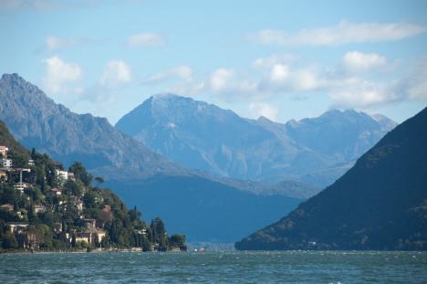 Lago di Lugano, Lombardy, Italy