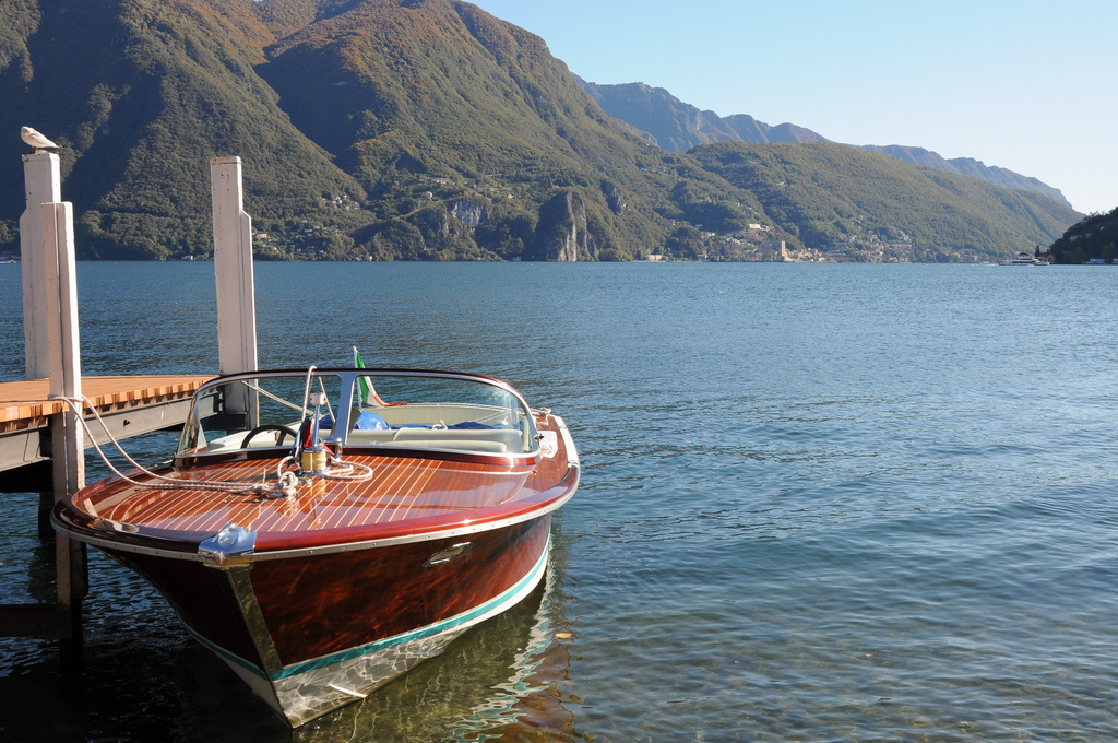 Lago di Lugano, Ticino, Lombardy, Italy