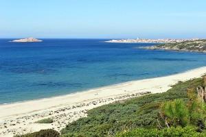 Li Feruli beach, Isola Rosa, Sardinia, Italy