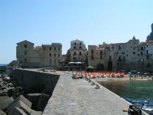 Medieval city of Cefalu, Palermo, Sicily, Italy