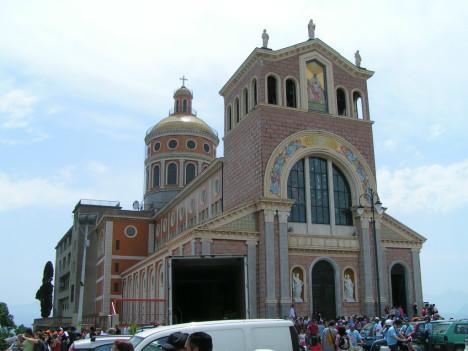 Sanctuary of Tindari, Messina, Sicily, Italy
