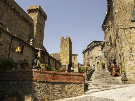 Town Bolsena, Lazio, Italy