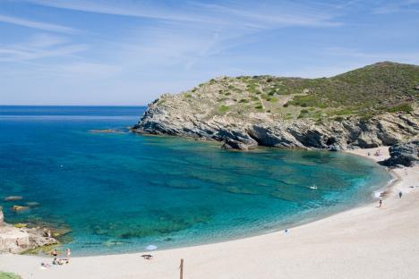 Argentiera beach, Sardinia, Italy