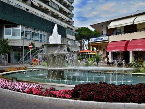 Fountain of Viale Gorizia, Lignano Sabbiadoro, Italy