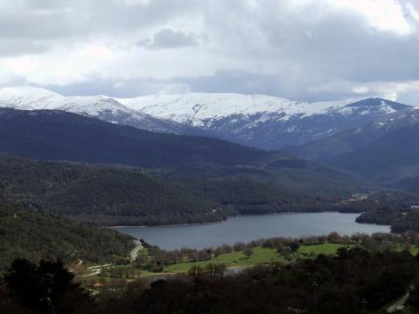 Gusana lake, Gennargentu mountain, Sardinia, Italy