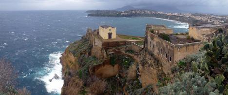 Terra Murata, Procida island, Campania, Italy