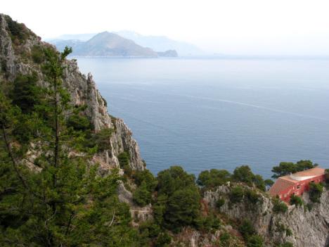 Villa Malaparte, Capri, Campania, Italy