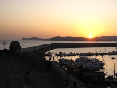 Alghero sunset, Sardinia, Italy