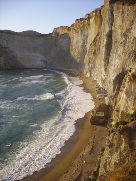 Chiaia di Luna Beach, Ponza Island, Lazio, Italy