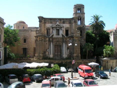 La Martorana Church, Palermo, Sicily, Italy