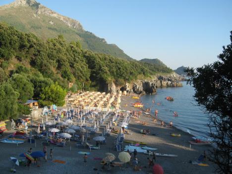Maratea beach, Basilicata, Italy