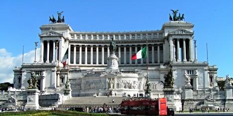 Monument to Vittorio Emanuele II, Piazza Venezia, Rome, Lazio, Italy