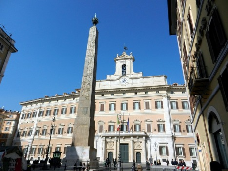 Piazza di Monte Citorio, Rome, Lazio, Italy