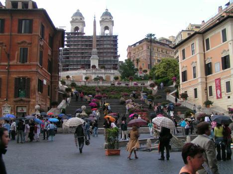 Piazza di Spagna, Rome, Lazio, Italy