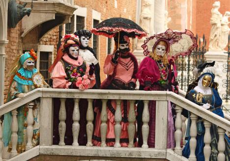 Carnevale in Venice, Veneto, Italy