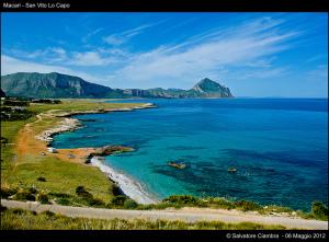 Coast around San Vito Lo Capo, Sicily, Italy