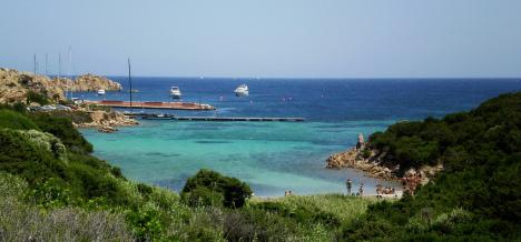 Cromatismi blu, La Maddalena, Sardinia, Italy