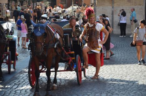 Gladiator in Rome, Lazio, Italy