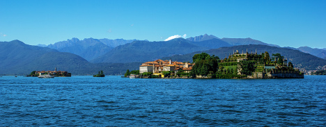 Isola Superiore, La Malghera and Isola Bela, Italy
