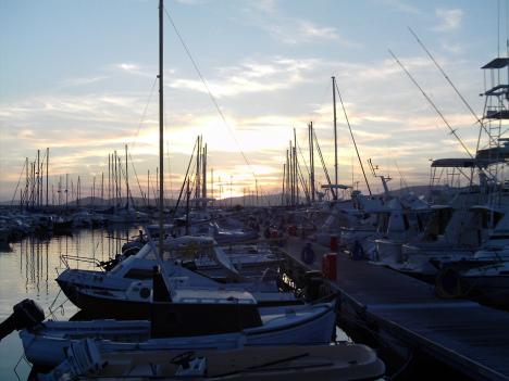 Alghero port, Sardinia, Italy