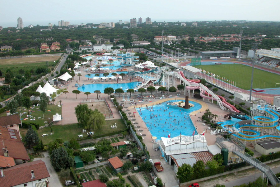 Aquasplash waterpark, Lignano Sabbiadoro, Friuli-Venezia Giulia, Italy