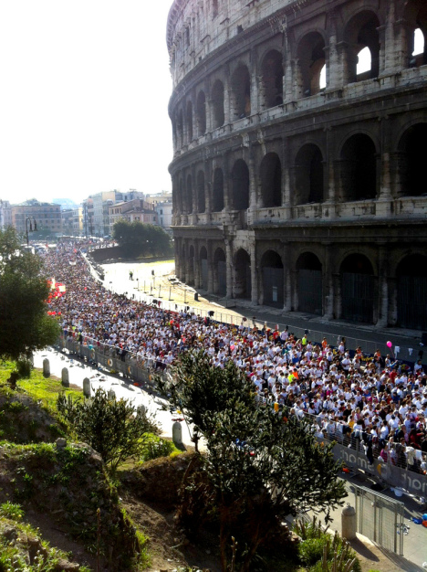 Rome Marathon, Italy
