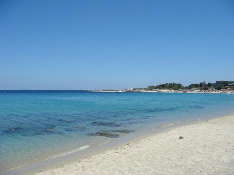 Sea at Soverato, Calabria, Italy