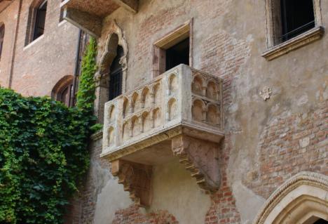 Juliet's Balcony, Verona, Veneto, Italy