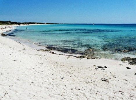 Punta Prosciutto beach, Puglia, Italy