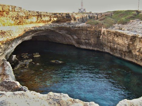 Roca Vecchia, Grotta della Poesia, Puglia, Italy