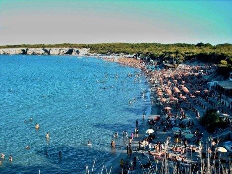 Torre dell'Orso beach, Puglia, Italy