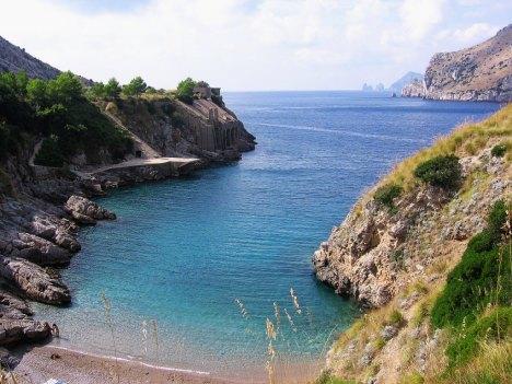 Baia di Ieranto, Massa Lubrense, Campania, Italy