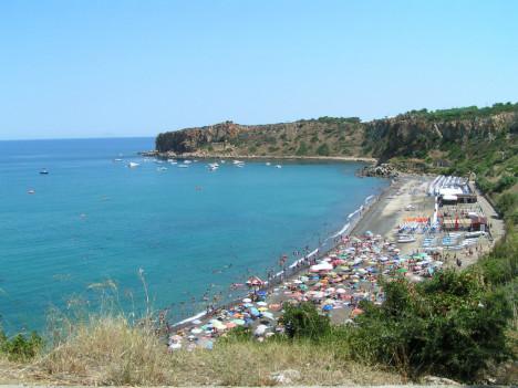 Finale di Pollina beach, Sicily, Italy