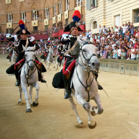 Palio Di Siena, Tuscany, Italy