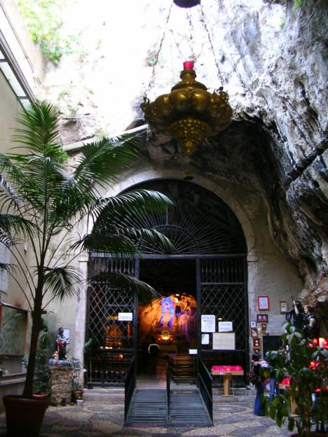 Santuario Santa Rosalia, Palermo, Sicily, Italy