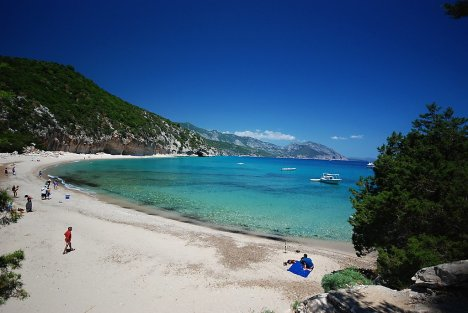 Cala Luna beach, Sardinia, Italy