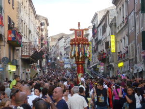 Festa dei Candelieri, Sassari, Sardinia, Italy