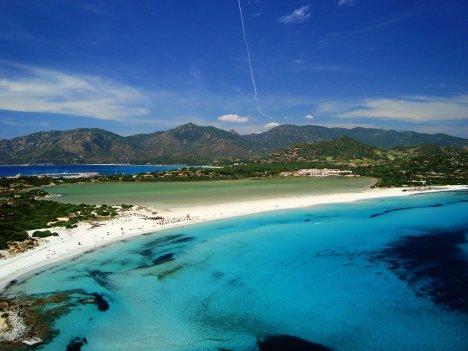 Porto Giunco beach, Sardinia, Italy