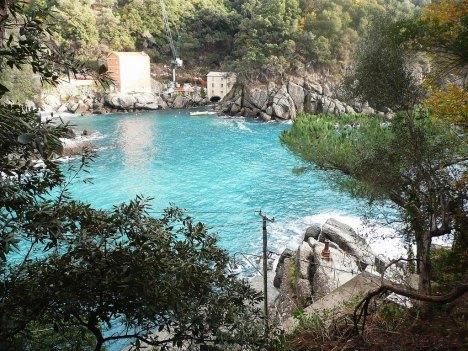 San Fruttuoso Bay, Liguria, Italy