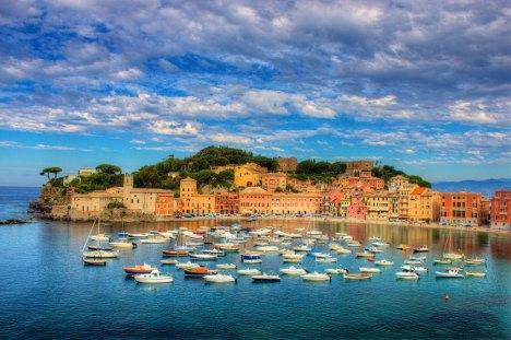 Sestri Levante and Baia del Silenzio, Liguria, Italy