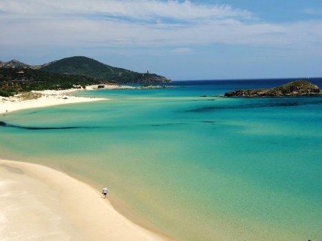 Tuaredda beach, Sardinia, Italy