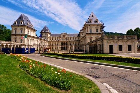 Castello del Valentino, Turin, Piedmont, Italy