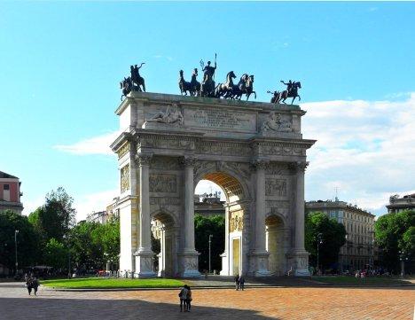 Arco della Pace, Milano, Lombardy, Italy