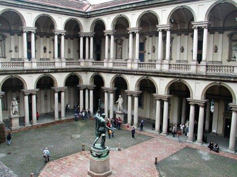 Pinacoteca di Brera, Milano, Lombardy, Italy