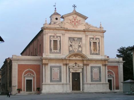 Church of  Santo Stefano dei Cavalieri, Piazza dei Cavalieri, Pisa, Tuscany, Italy