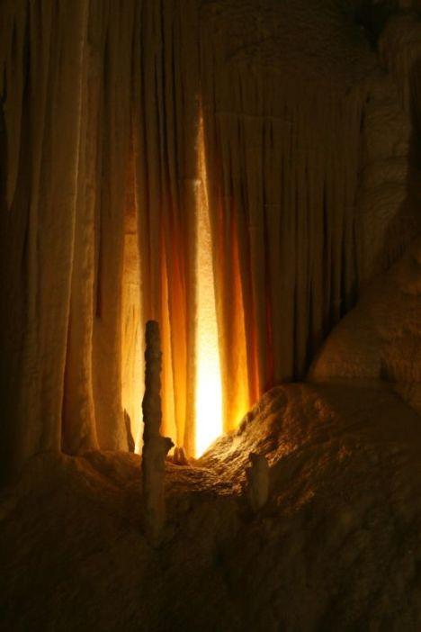 Organ pipes, Grotte di Frasassi, Marche, Italy