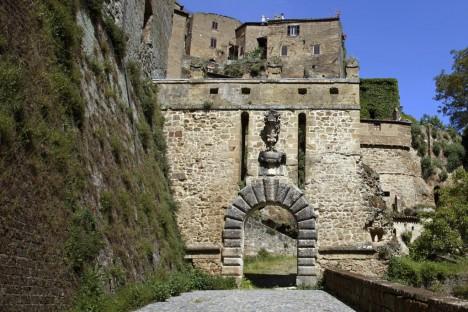 Porta Dei Merli in Sorano, Tuscany, Italy
